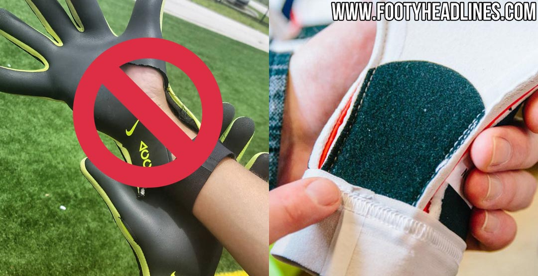 Doncella servidor cuenco  Nike Fixes Tearing Issue Of Strapless Nike Mercurial Goalkeeper Gloves -  Footy Headlines