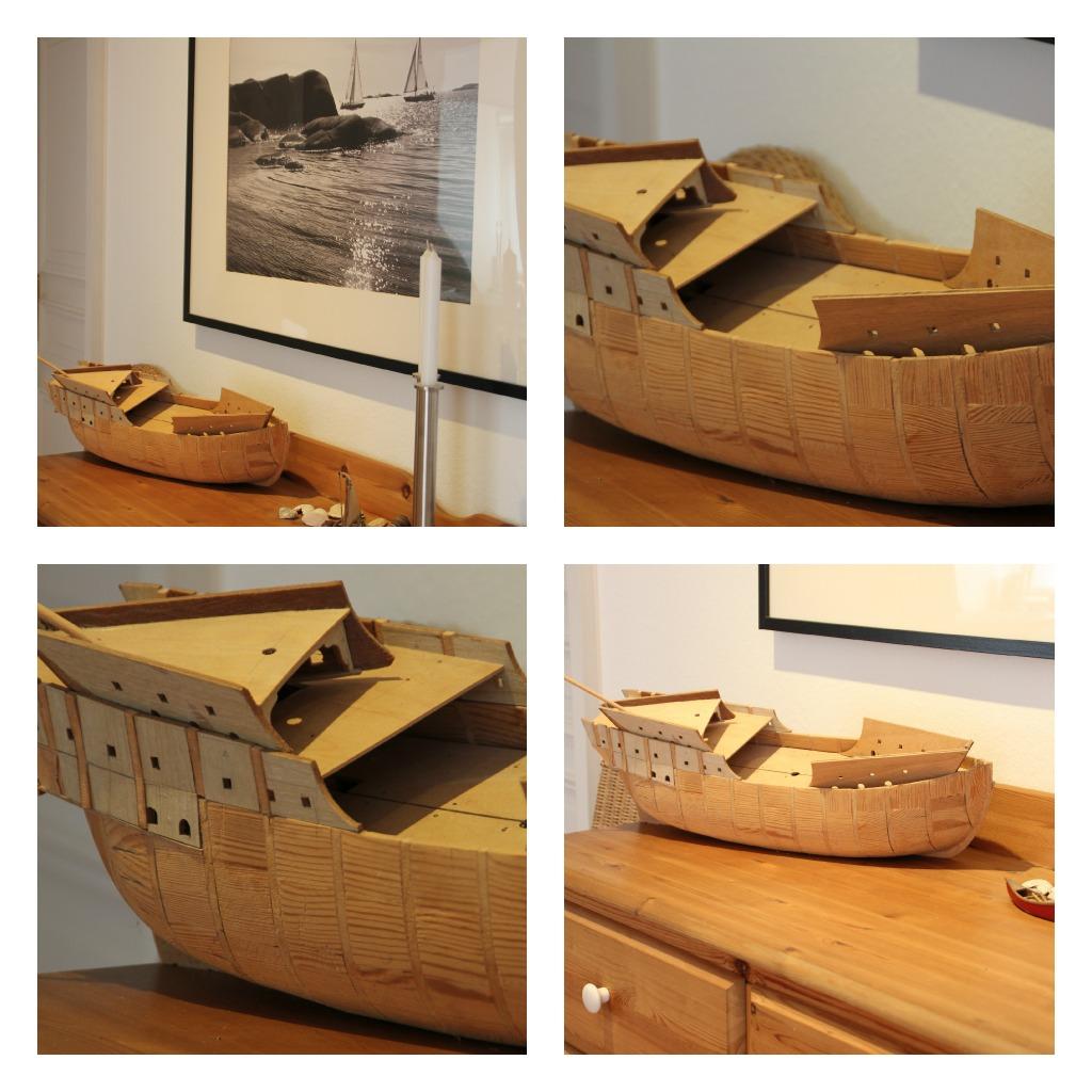 Holzschiffe Und Meer