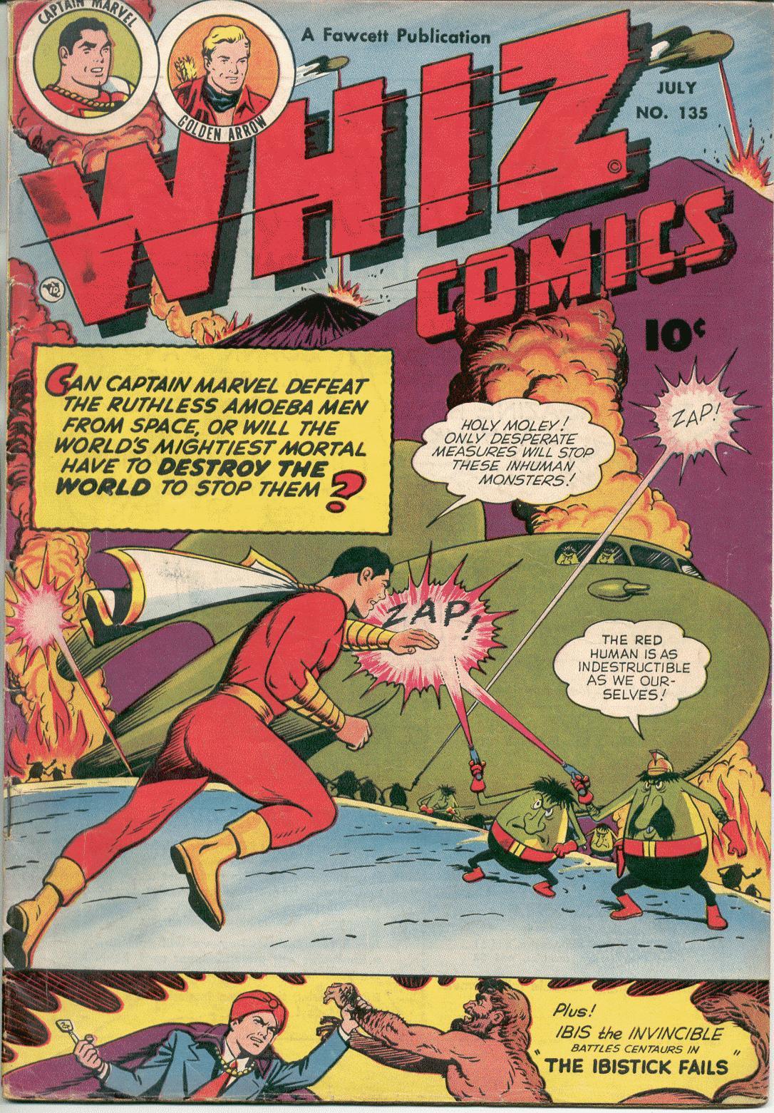 WHIZ Comics 135 Page 1