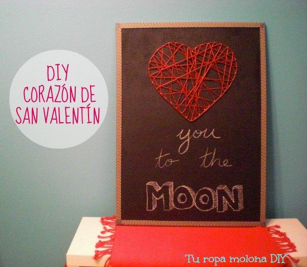 diy corazon san valentin