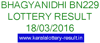 Kerala Lottery result, Bhagyanidhi lottery result, Kerala Bhagyanidhi BN 229 lottery result, Keralalotteries Bhagyanidhi lottery BN 229 result today, Bhagya nidhi lottery BN 229 result, Kerala Bhagyanidhi lottery result 18-03-2015, Kerala lottery result, Bhagyanidhi Lottery result, Bhagyanidhi BN-229 lottery result, Today's Bhagyanidhi Lottery result, 18/03/2016 Bhagyanidhi Lottery result, Bhagyanidhi BN 229 lottery result