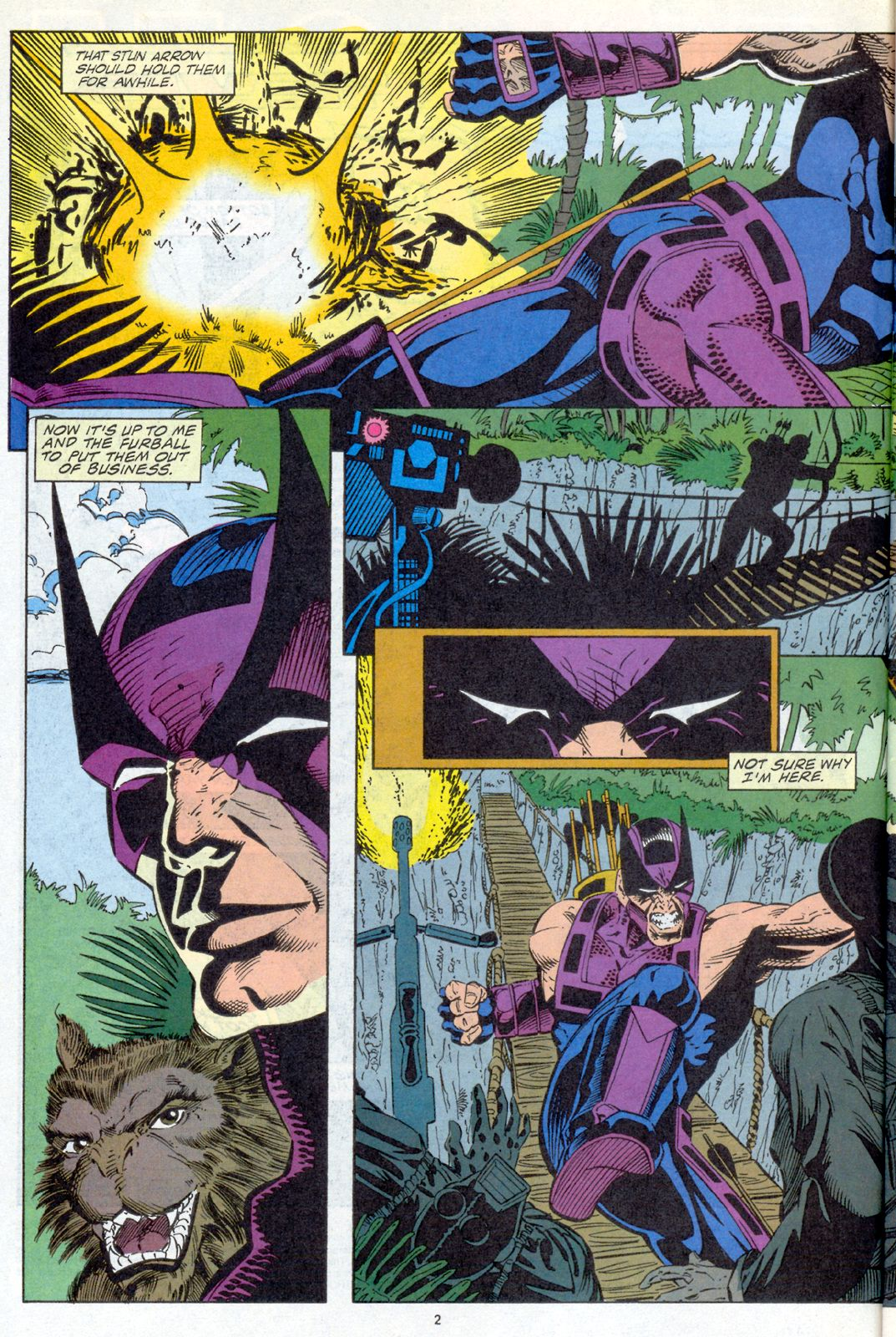 Hawkeye (1994) Issue #4 #4 - English 3