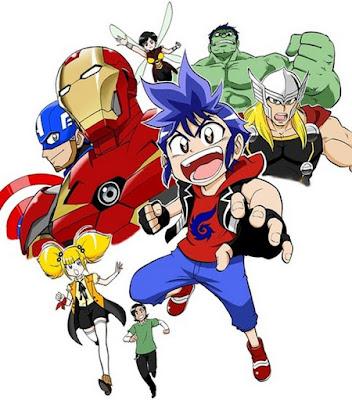 Animações: Marvel e DC Marvel-future-avengers-manga-234941