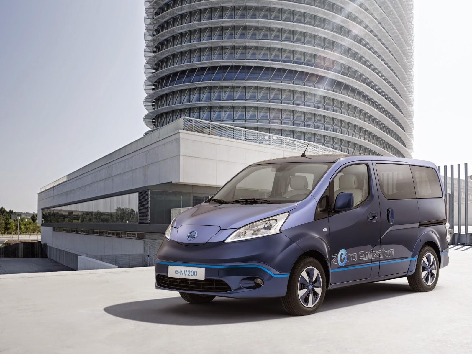 Πρωτότυπο ηλεκτροκίνητο van από τη Nissan, για VIP μετακινήσεις