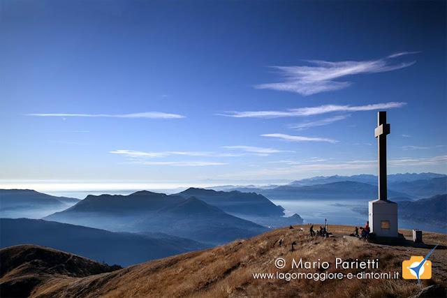 Croce vetta monte Lema