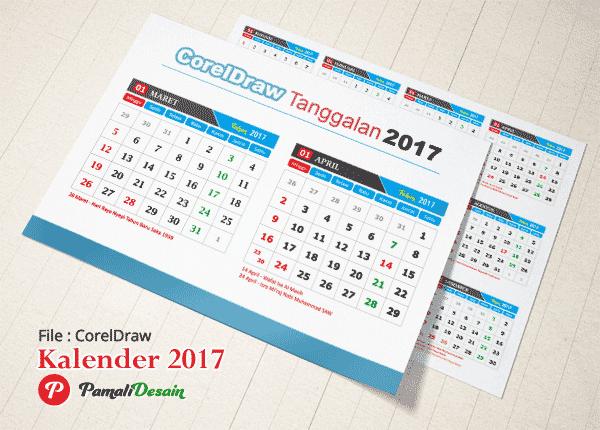 Download Tanggalan 2017 Lengkap Hari Libur Nasional ...