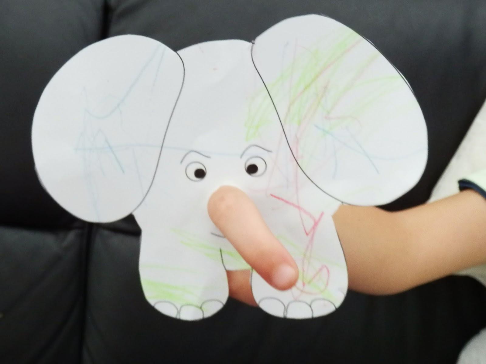 Daycaremummy Elefanten
