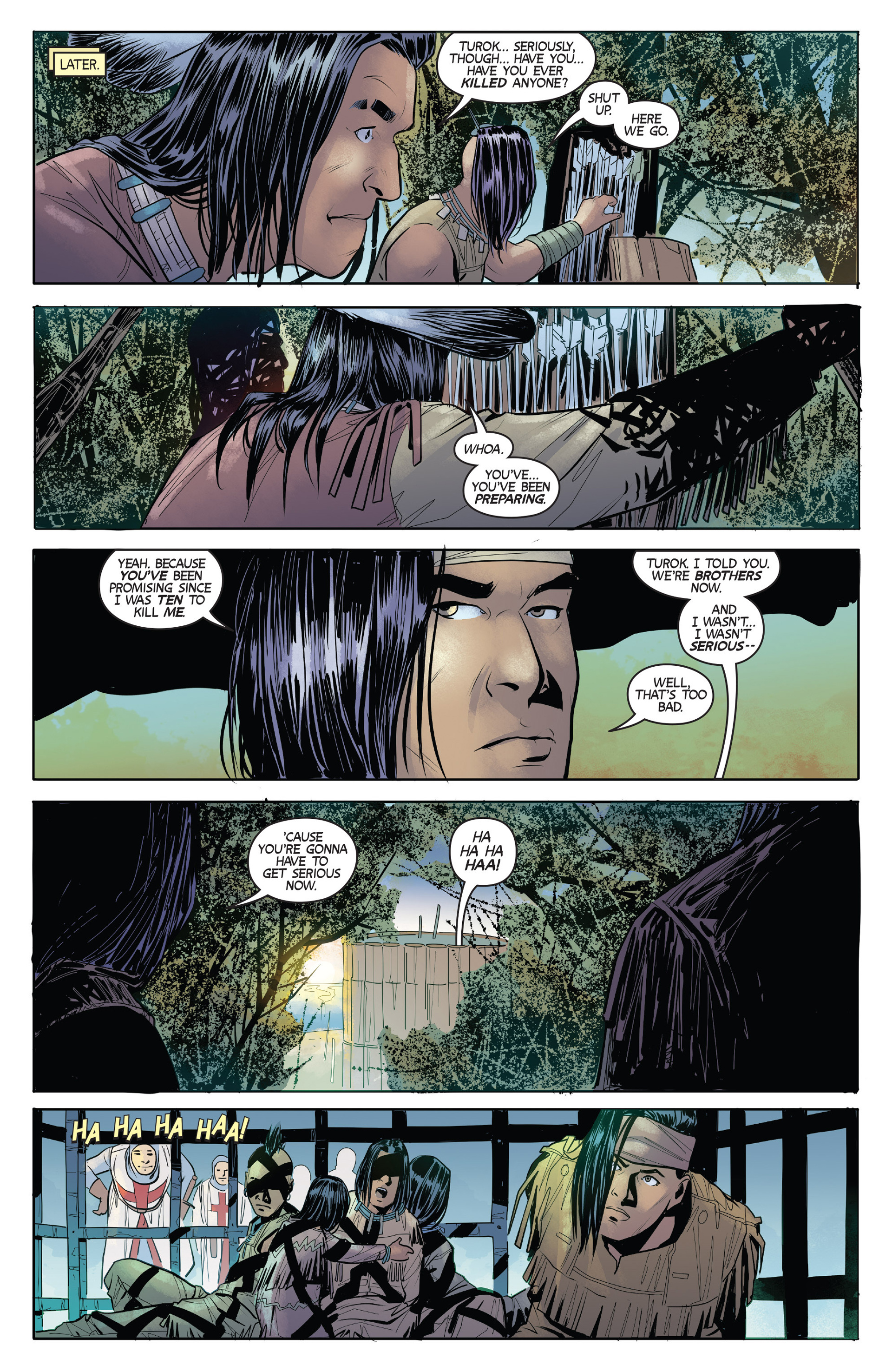 Read online Turok: Dinosaur Hunter (2014) comic -  Issue #2 - 14