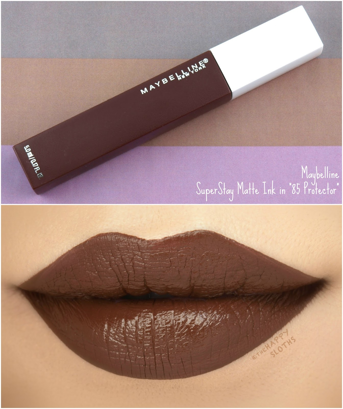 "Maybelline | SuperStay Matte Ink ""85 Protector"": Review and Swatches"