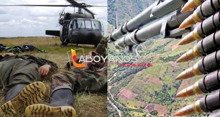 Bombardeo a las disidencias de las Farc en San Vicente del Caguán