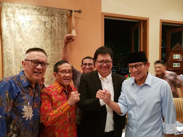 Fadel Ungkap Isu Pecah, Prabowo-Sandi Buka Pintu untuk Golkar