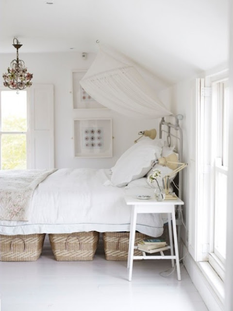 Bring In Some Small Furniture Pieces To Hide Your Paraphernalia Wicker Baskets And Under Bed Storage Bo Can Do Wonders For Bedroom S Aura