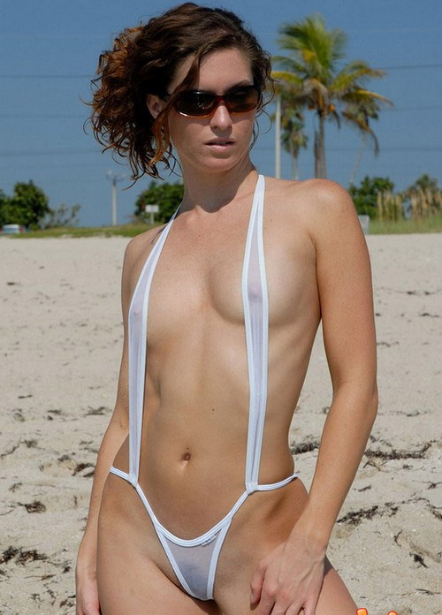 String Pussy Bikini 10