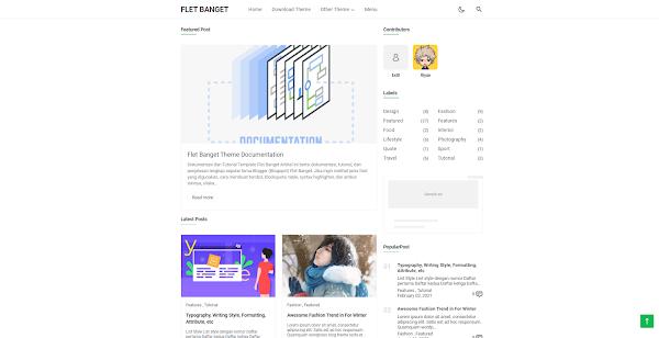 FletBanget - Responsive Blogger Theme