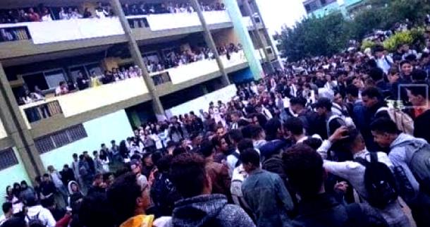 مؤثر بالصورة:مقتل تلميذ في ثالث أيام الاحتجاج ضد الساعة الإضافية في حادث مروع