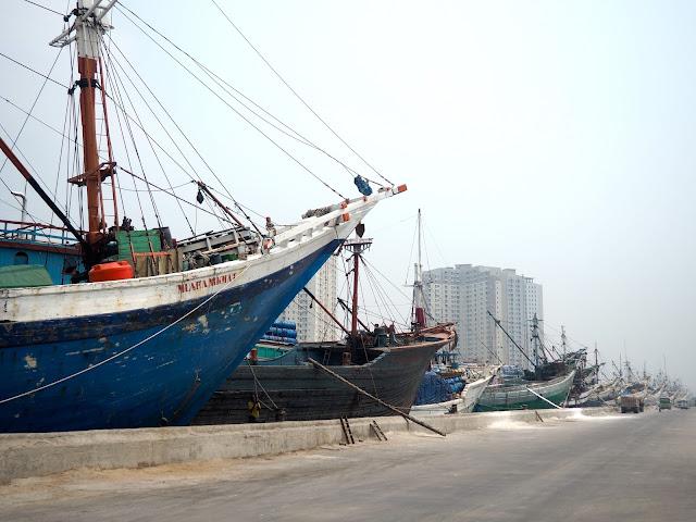 Sunda Kelapa old harbour, Jakarta, Indonesia