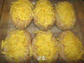 мясные котлеты в духовке с сыром