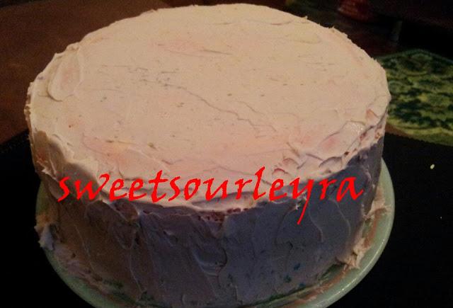 SURPRISEEEE...ITALIAN RAINBOW CAKE