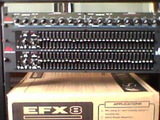 Equalizer dbx sound system