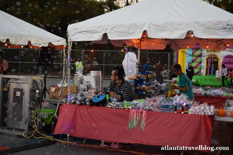 Ночной рынок в Атланте