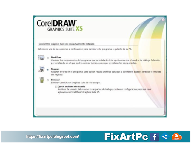 THE UI LANGUAGE REGISTRATION LIST IS INVALID en  Corel Draw X5