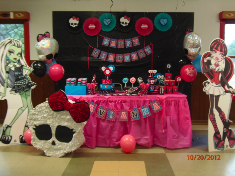 Home Confetti Monster High Birthday Party