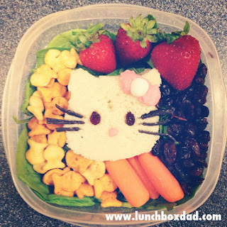 Hello Kitty easy kids lunch