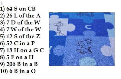64 s on CB - puzzle with answer