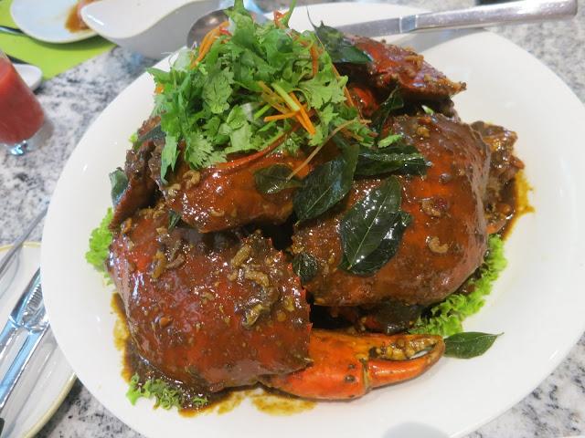 Kam Heong Crab