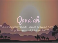 Syarat-Syarat Qanaah