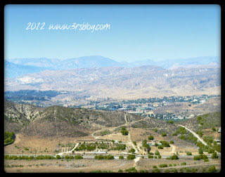 View from the Reagan Library