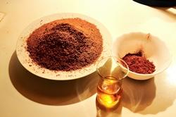 Zutaten (ohne Butter und Schokoladenstreusel)...