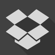dropbox shadow button