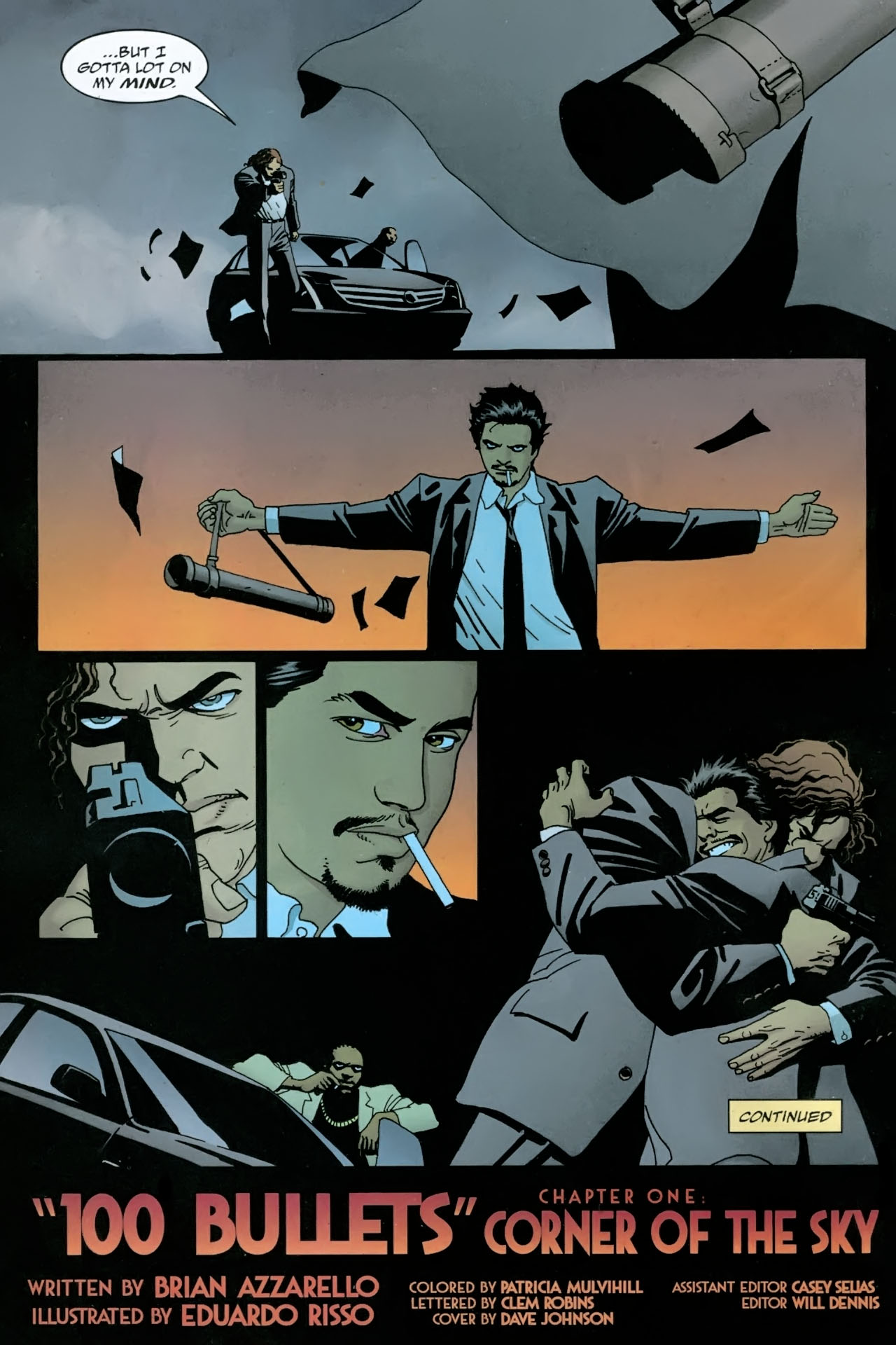 Read online 100 Bullets comic -  Issue #89 - 23