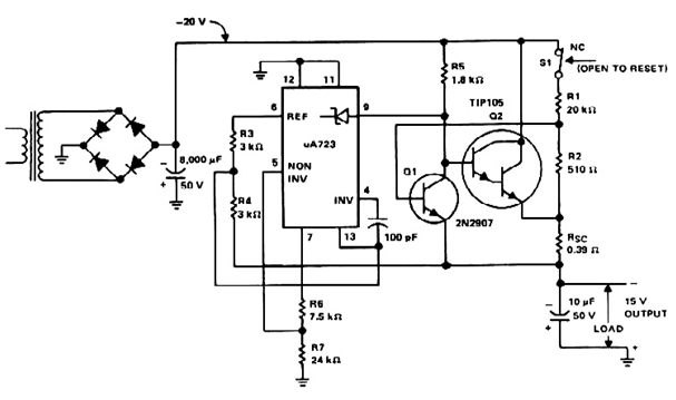 smooth flasher circuit diagram