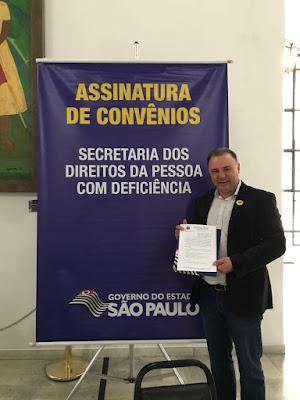 Prefeitura de Registro-SP recebe equipamentos de acessibilidade para a Biblioteca Municipal