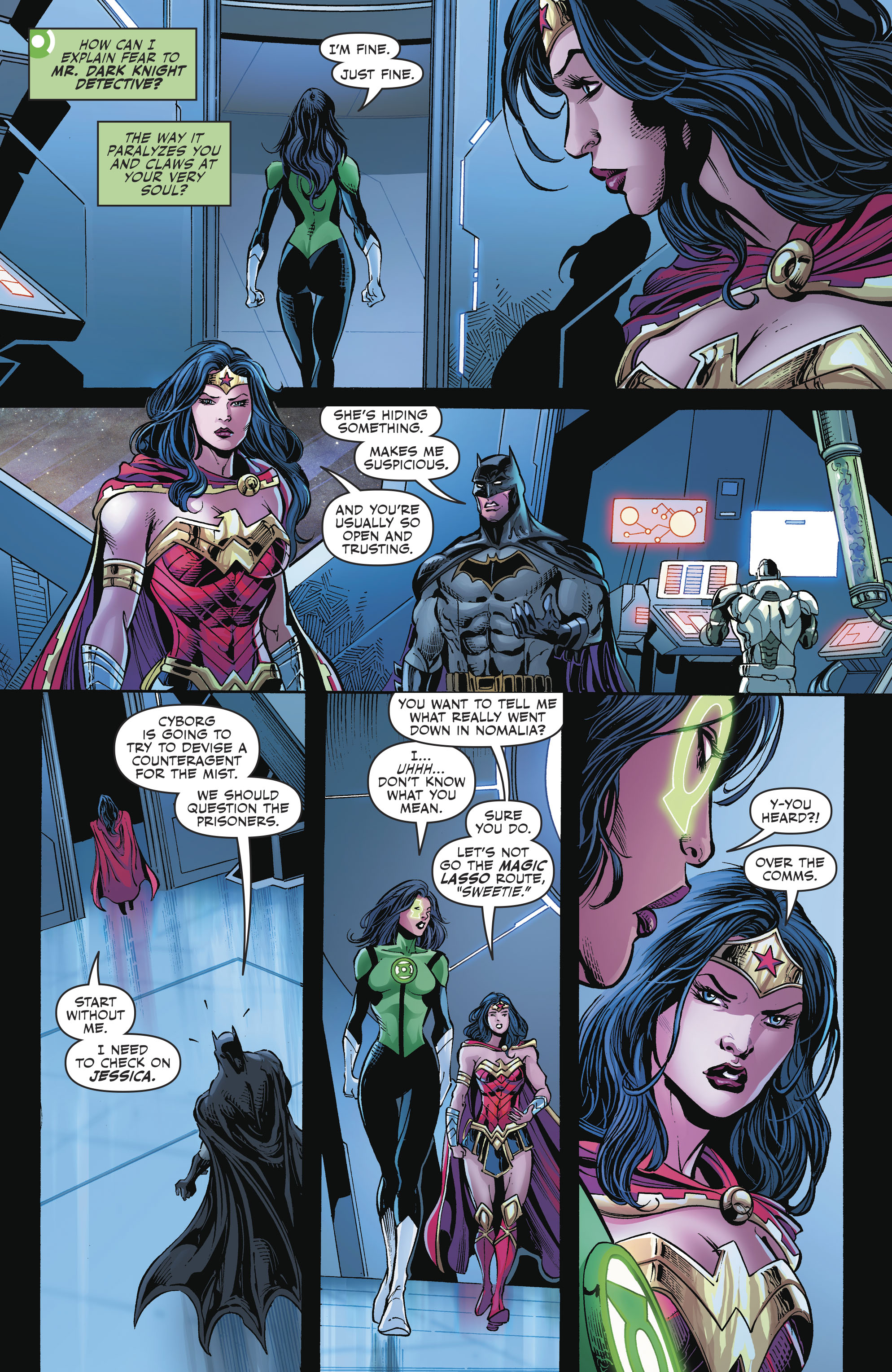 Read online Justice League (2016) comic -  Issue #23 - 11