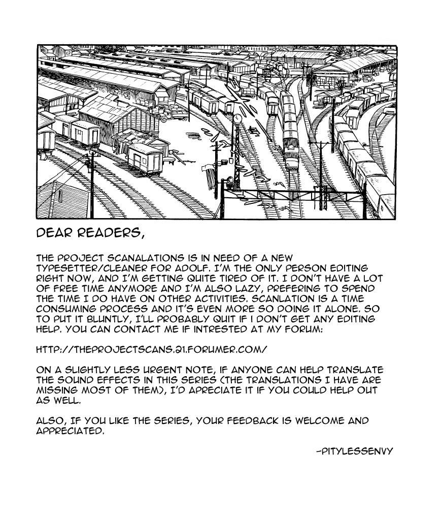 Adolf chap 9 trang 1
