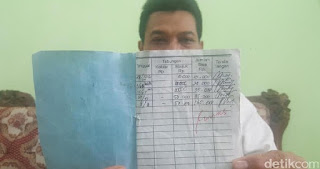 LIHAT! Kepala Sekolah Tunjukkan Catatan Buku Tabungan Rosita, Ternyata Segini Jumlahnya
