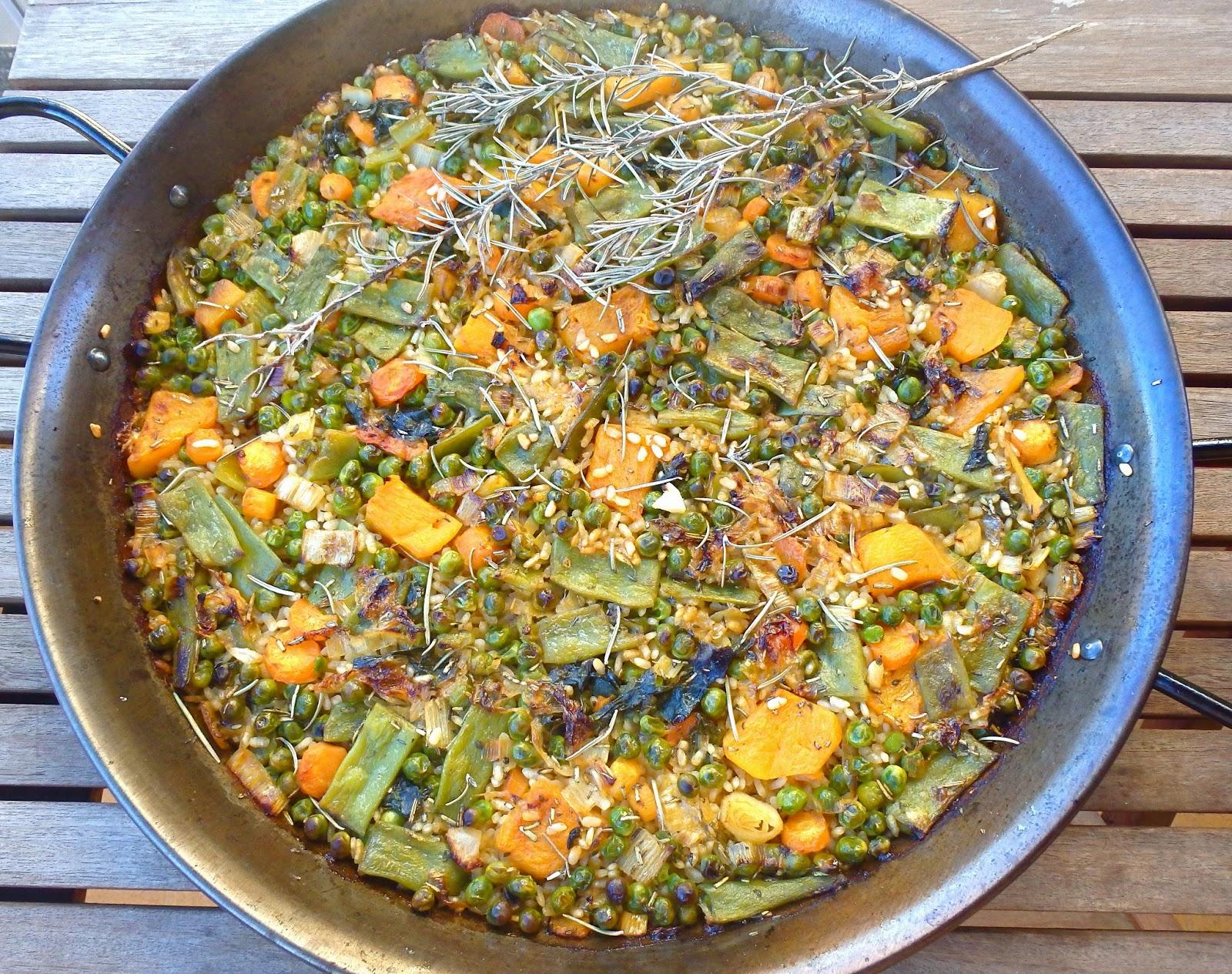 Les receptes que m 39 agraden paella de verduras for Como hacer paella de verduras