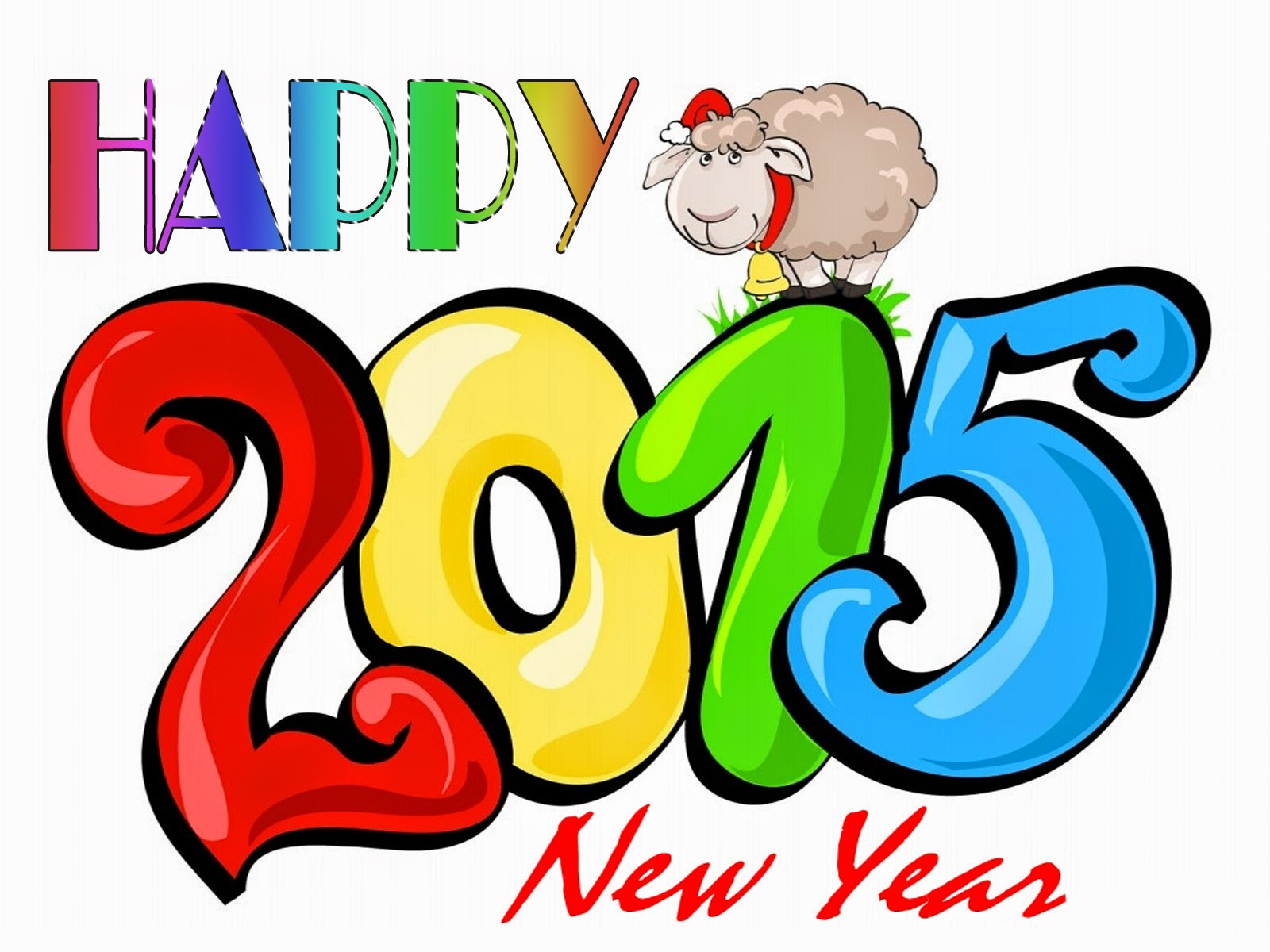 Cute 2015 Kids New Year Wallpapers