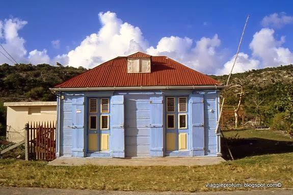 La Dèsirade, colorata abitazione creola