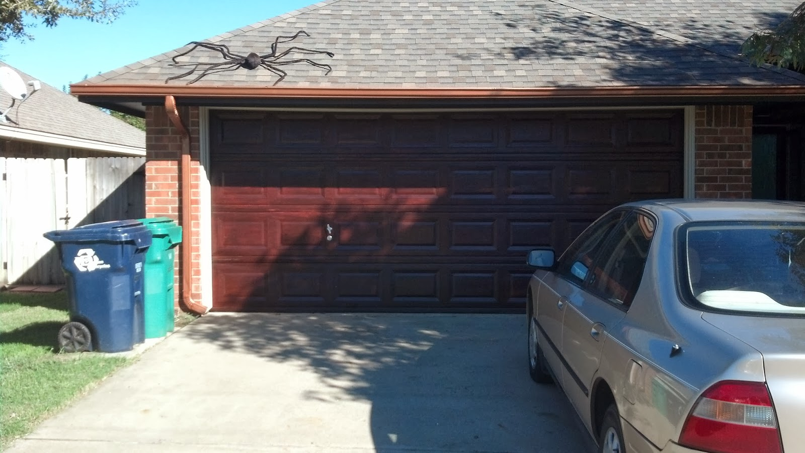 Fix Lovely How To Stain Your Garage Door To Look Like Wood
