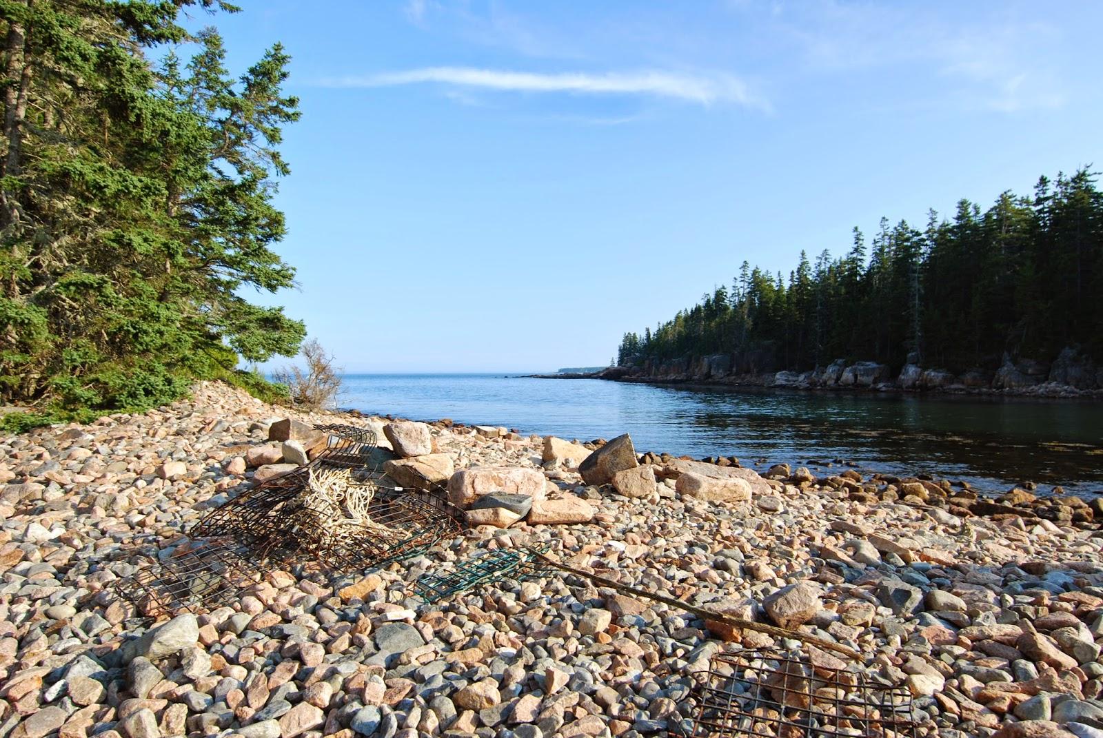 Litton 39 s fishing lines ship harbor trail acadia national for Acadia national park fishing