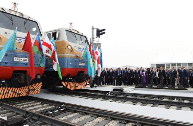 Irán y Azerbaiyán estarán conectados por ferrocarriles el 25 de diciembre