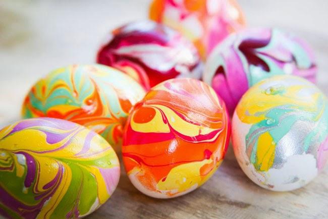 basteln mit echten eiern