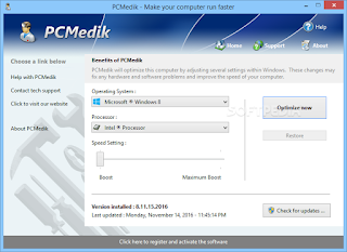 تنزيل برنامج اصلاح مشاكل ويندوز 7 PCMedik