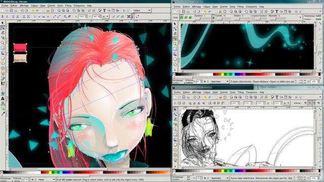Inkscape أفضل برنامج تصميم مجاني للماك و الويندوز