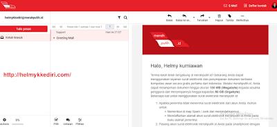 Cara membuat email dimerahputih.id gratis3