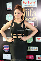 Nikesha Patel in Beautiful Figure Hugging Black Dress  at IIFA Utsavam Awards 2017  Day 2 at  17.JPG